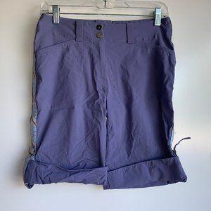 NIKE GOLF Fit Dry Purple Nylon Bermuda Shorts Sz 4